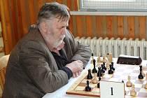 Josef Přibyl si vítěztsvím v partii s Janem Bernáškem otevřel cestu k celkovému prvenství