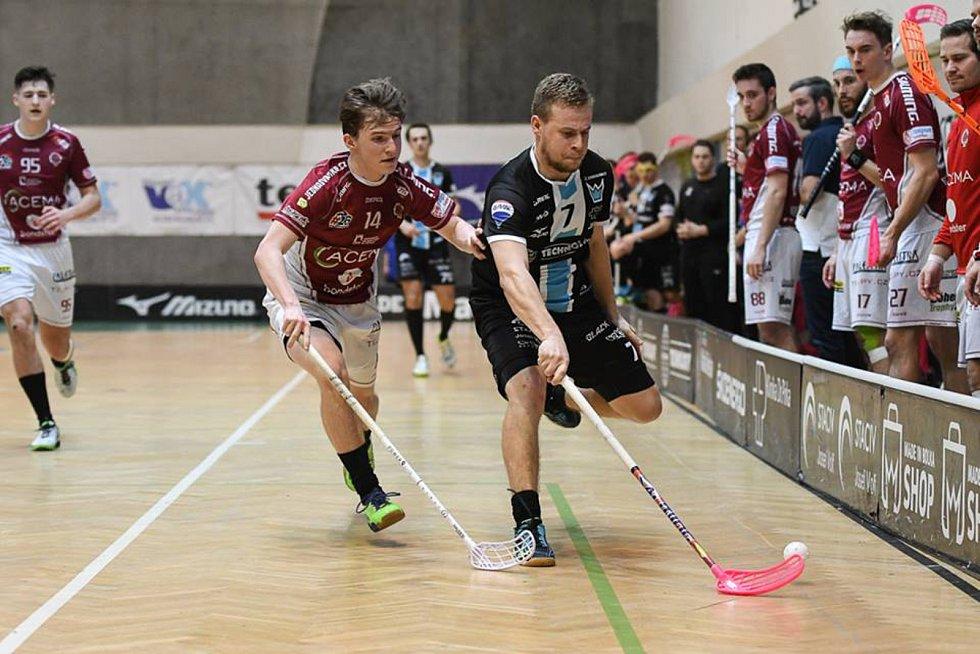 Superliga: Technology Mladá Boleslav - Acema Sparta Praha.