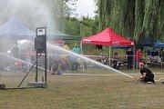 Soutěž o Boleslavský pohár v požárním útoku pokračovala v sobotu 25. srpna ve volnočasovém areálu v Bakově nad Jizerou memoriálem Josefa Dvořáka.