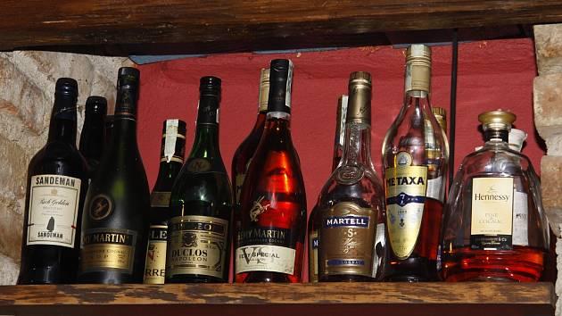 Ilustrační foto - alkohol