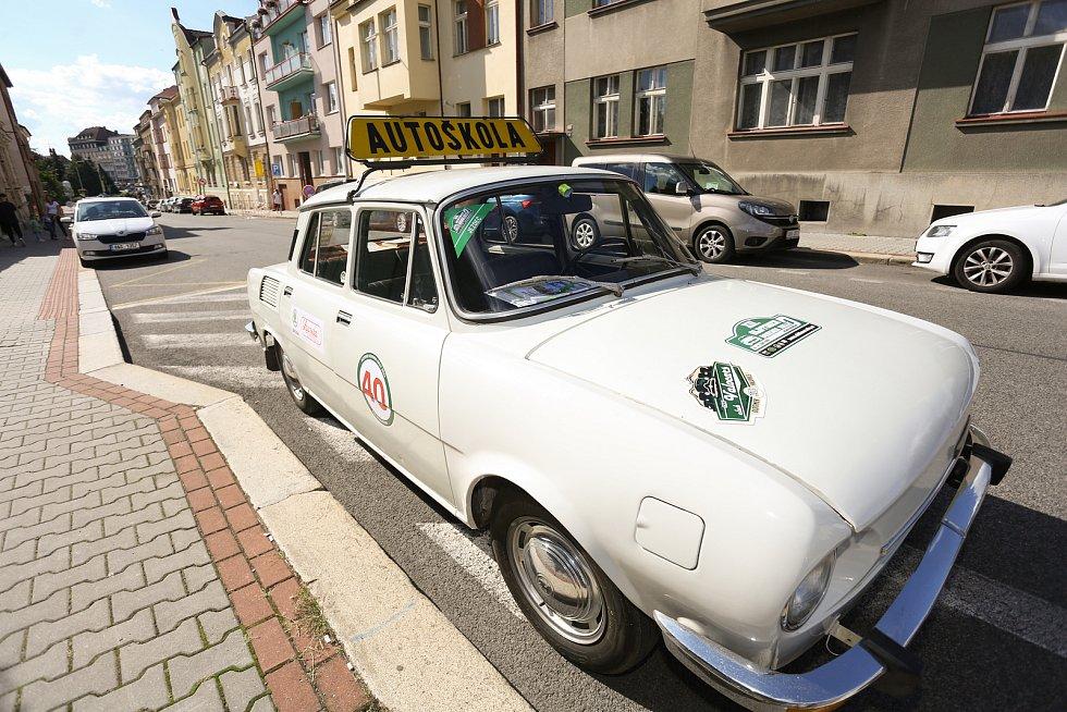 Z Bohemia Oldtimer Rally 2021.