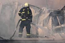 ilustrace hasiči