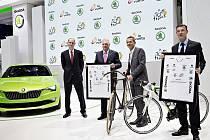 Boleslavská automobilka podporuje Tour de France