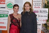 Monika Zörklerové (vlevo) spolu se svou trenérkou Dagmar Pletkovou,