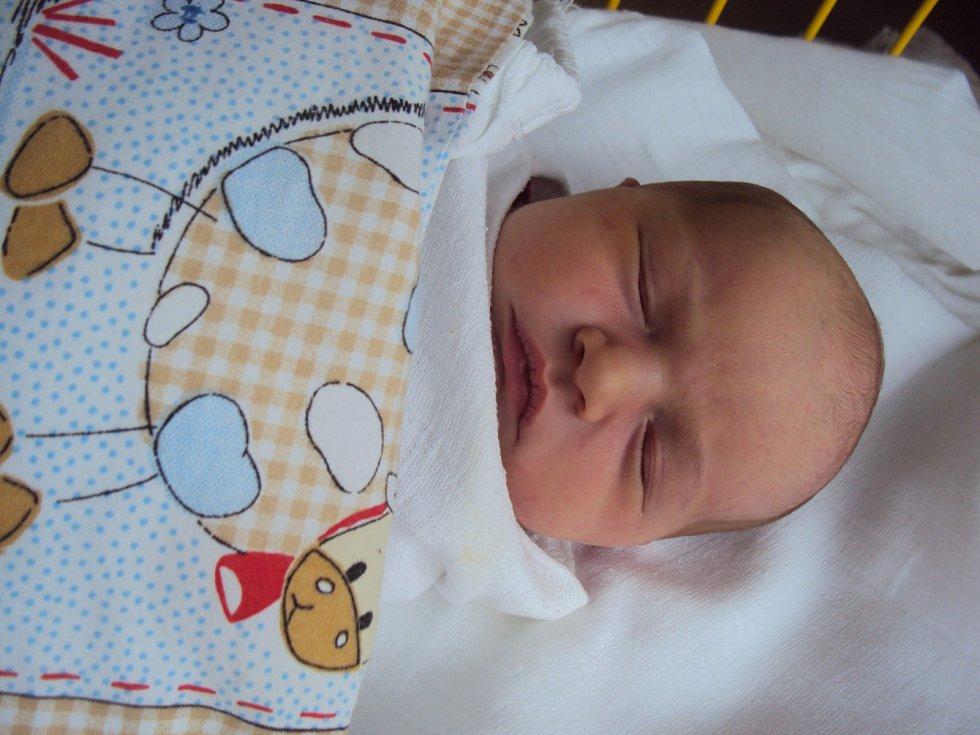 SOFIE Červoňáková se narodila 21. ledna, vážila 3,11 kilogramů a měřila 49 centimetrů. Domů do Kosmonos si ji odveze maminka Nikola a tatínek Michal.