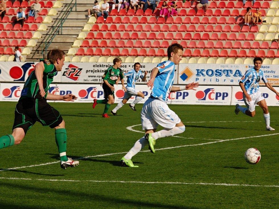 1. Gambrinus liga: FK Příbram - FK Mladá Boleslav