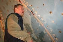 Restaurátoři dokončují opravy v kostele sv. Havla v Horních Stakorech
