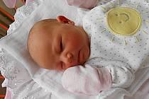 Ema Mužíčková, Dolní Bousov. Narodila se 8. července, vážila 3,46 kg a měřila 51 cm. Maminka Hana a tatínek Karel.
