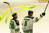 I. hokejová liga, 3. zápas čtvrtfinále: HC Benátky nad Jizerou - BK Mladá Boleslav