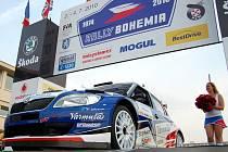 Čtvrteční start Rally Bohemia 2010