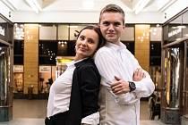 Lucie Končoková a Jakub Necpál reprezentují Městské divadlo Mladá Boleslav
