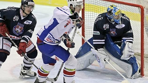 I. hokejová liga: Horácká Slavia Třebíč - HC Benátky nad Jizerou