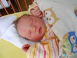 Ella Lukovcová se narodila 1. února, vážila 3,87 kg a měřila 52 cm. S maminkou Lenkou a tatínkem Michalem bude bydlet v Mladé Boleslavi.