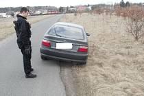 Kradené auto na Sahaře v Boleslavi