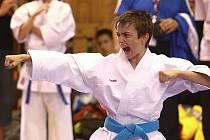 Filip Vít v akci na olympiádě.