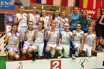 Basketbalistky Pastelky na turnaji v Dánsku