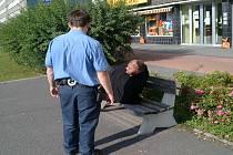 Strážníci našli psychicky narušeného muže