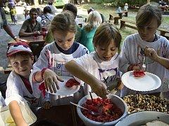 Příměstských táborů v Okrouhlíku se zúčastnily děti z benáteckých základních i mateřských škol.