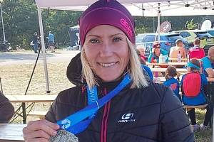 Barbora Chumlenová na OlfinCar Hradeckém půlmaratonu