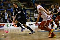 Superliga florbalu: Mladá Boleslav - Pardubice