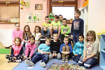 Prvňáčci z Krnska ve školním roce 2019/2020.