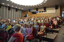 Ze zahájení Mladoboleslavského filmového festivalu v Domě kultury v Mladé Boleslavi.