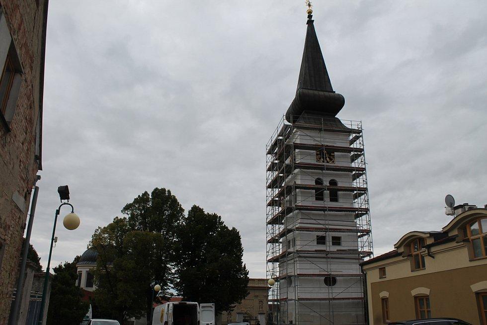 Kosmonoská Loreta z počátku 18. století je po loretánské kapli v Nymburce největší u nás.