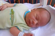 VOJTĚCH Novák se narodil 14. června mamince Pavle a tatínkovi Květoslavovi z Bakova nad Jizerou. Vážil 3,55 kilogramů a měřil 52 centimetrů.