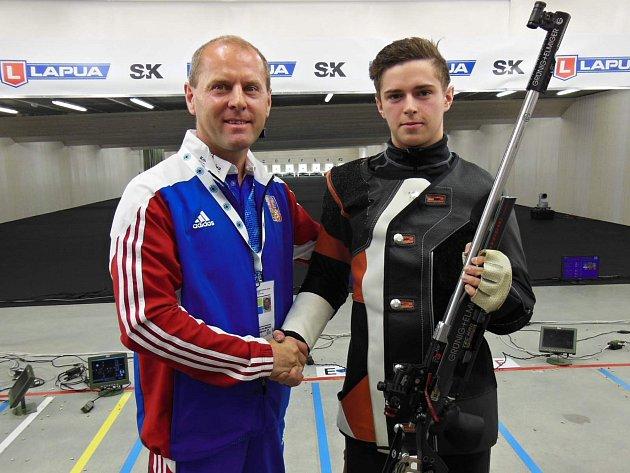 Jan Videcký s Filipem Nepejchalem