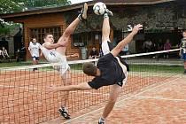 Nohejbalový turnaj v Jizerním Vtelně