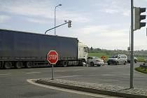 Nehoda na obchvatu Boleslavi