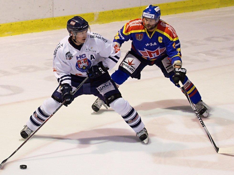 I. liga: HC Benátky nad Jizerou - Motor České Budějovice