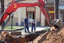Zahájení realizace projektu Muze cukrovarnictví a řepařství a také rekonstrukce náměstí v Dobrovici.