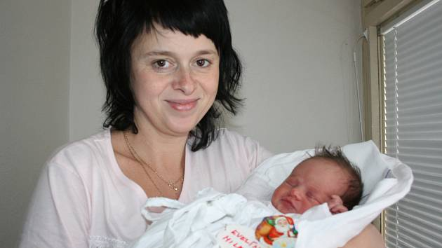 Do rodiny Milerových přišlo na Štědrý den štěstí v podobě malé Evelínky. Měřila  51 cm a vážila 3,2 kg. S rodiči Hanou a Tomášem bude bydlet v Klášteře Hradišti.