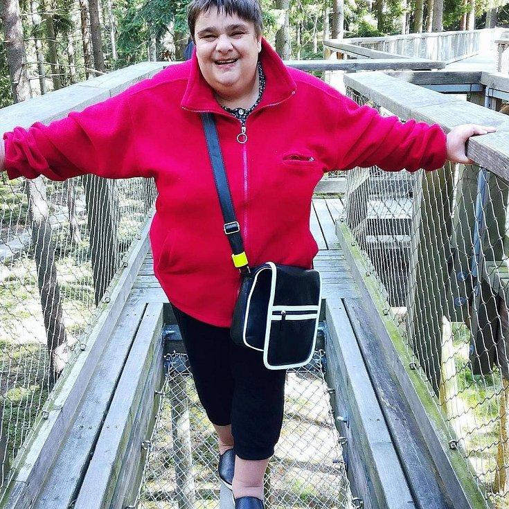 Další rehabilitační pobyt pro osoby se zdravotním postižením se konal za organizátorství Kateřiny Maxové (na snímku) v Třeboni.