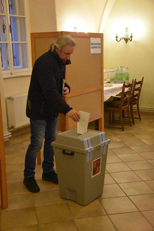 Prezidentské volby - Dobrovice.