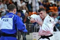 Z juniorského mistrovství v judu v Jablonci and Nisou