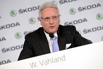 Winfried Vahland na bilanční tiskové konferenci.