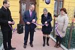 Otevření nové školky v obci Hřivno.