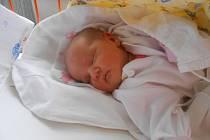 ŠTĚPÁNKA Ludviková se narodila 14. prosince mamince Štěpánce a tatínkovi Marianovi z Mladé Boleslavi. Po porodu vážila 3,44 kilogramů a měřila 49 centimetrů.