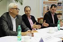 Marcel Chládek, ministr školství a tělovýchovy, navštívil včera Mladou Boleslav