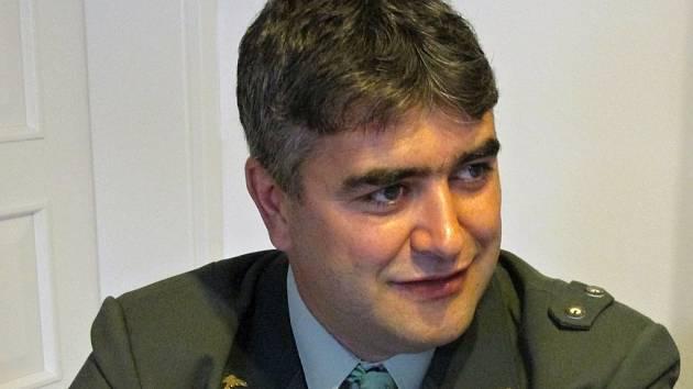Dušan Hýbner, předseda středočeských rybářů.