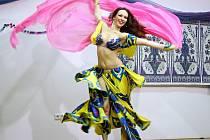 UŽ POOSMÉ do Mladé Boleslavi zamířily desítky tanečnic z šesti zemí, aby představily své umění, vzájemně se inspirovaly a rovněž změřily síly.