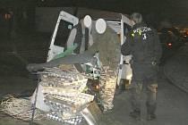 Zadržení podezřelých v Cartecu v Boleslavi
