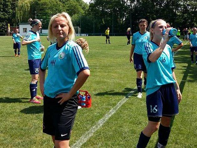 ČFL žen: Zlíchov - Sporting Mladá Boleslav.