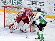 Hokej, Tipsport extraliga: BK Mladá Boleslav - HC Oceláři Třinec.