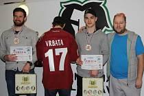Cenu pro Sportovce Mladoboleslavska si převzali i boleslavští hokejisté