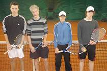 Účastníci semifinále dvouhry halového přeboru dorostenců okresu Mladá Boleslav: