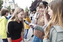 Věda v ulicích - gymnázium Dr.Pekaře mladá Boleslav 2013