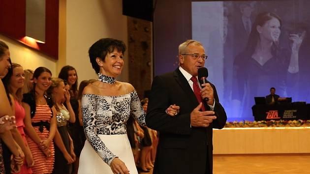 Josef a Bohumila Zitovi, taneční mistři.